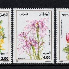 Timbres: ARGELIA 996/98** - AÑO 1981 - FLORA - FLORES Y PLANTAS. Lote 152173154