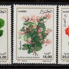 Timbres: ARGELIA 1131/33** - AÑO 1997 - FLORA - FLORES. Lote 152173682