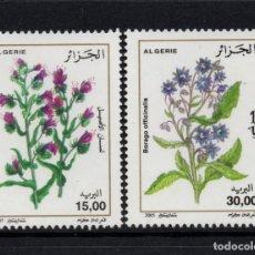Timbres: ARGELIA 1393/94** - AÑO 2005 - FLORA - FLORES Y PLANTAS. Lote 152174342