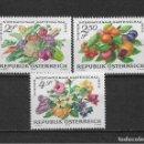 Sellos: AUSTRIA 1976 FLORA ** NUEVOS - 4/53. Lote 160814942