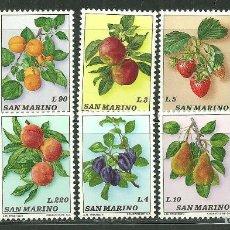 Sellos - San Marino 1973 Ivert 837/46 *** Flora - Frutas - 162181814