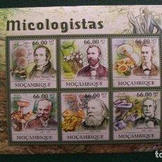 Sellos: FLORA-HONGOS-MOZAMBIQUE-2011-MINIPLIEGO**(MNH). Lote 163976486