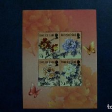 Sellos: FLORA-FLORES-ASCENSION-2011-MINIPLIEGO Y&T 1031/4**(MNH). Lote 167529240