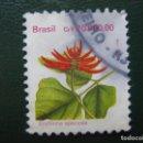 Sellos: BRASIL, SELLO USADO, TEMA FLORA . Lote 168485072