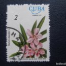 Sellos: CUBA, 1977 TEMA FLORES. Lote 168580576