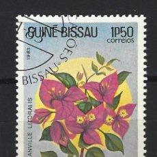 Francobolli: FLORES / GUINEA BISSAU - SELLO USADO. Lote 170533268