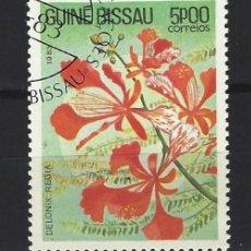Francobolli: FLORES / GUINEA BISSAU - SELLO USADO. Lote 170533368