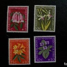Sellos: FLORES-NUEVA GUINEA HOLANDESA-1959-SERIE COMPLETA**(MLH). Lote 172034625