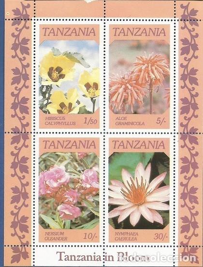 Sellos: TANZANIA - COLECCIÓN COMPLETA - BLOQUE DE 4 Y 4 HOJITAS DE LOS MISMOS SELLOS DEL BLOQUE - NUEVOS - Foto 2 - 172312627