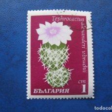 Sellos: -BULGARIA 1970, CACTUS. Lote 179147838