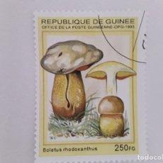Sellos: GUINEA SELLO USADO FLORA SETAS. Lote 181990681