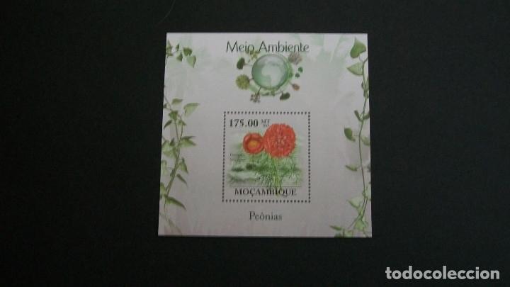 MOZAMBIQUE-2010-Y&T BL.250**(MNH)-ROSAS (Sellos - Temáticas - Flora)