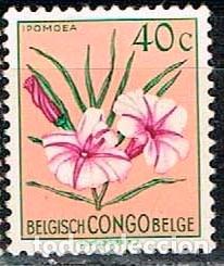 CONGO BELGA Nº 321, IPOMOEA FILICAULIS , NUEVO SIN GOMA (Sellos - Temáticas - Flora)