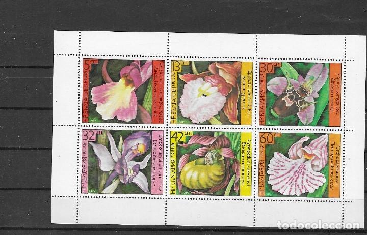 BULGARIA Nº 2987 AL 2992 (**) (Sellos - Temáticas - Flora)