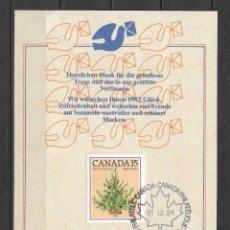 Sellos: CANADA 1981 PRIMER DIA - 191. Lote 186212673