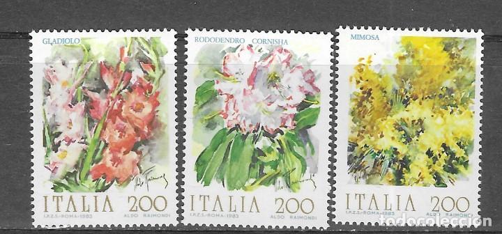ITALIA Nº 1571 AL 1573 (**) (Sellos - Temáticas - Flora)