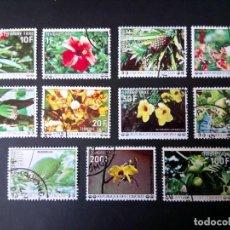 Sellos: FLORES, SERIE DE COMORES. Lote 194384823