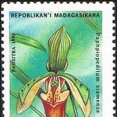 Sellos: MADAGASCAR 1993 IVERT 1323A/23G *** FLORA - ORQUIDEAS. Lote 197564367