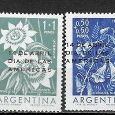 Sellos: ARGENTINA Nº 639 AL 642 (**). Lote 277398378