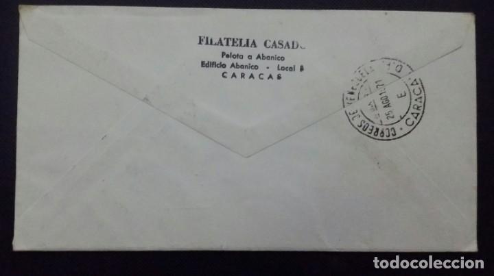 Sellos: SOBRE Y TARJETA CON SELLOS 1971 1a. EMISIÓN. 40 ANIV. FUNDACIÓN DE CIENCIAS NATURALES.VENEZUELA - Foto 2 - 198549837