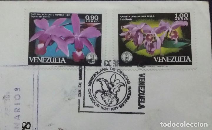 Sellos: SOBRE Y TARJETA CON SELLOS 1971 1a. EMISIÓN. 40 ANIV. FUNDACIÓN DE CIENCIAS NATURALES.VENEZUELA - Foto 3 - 198549837