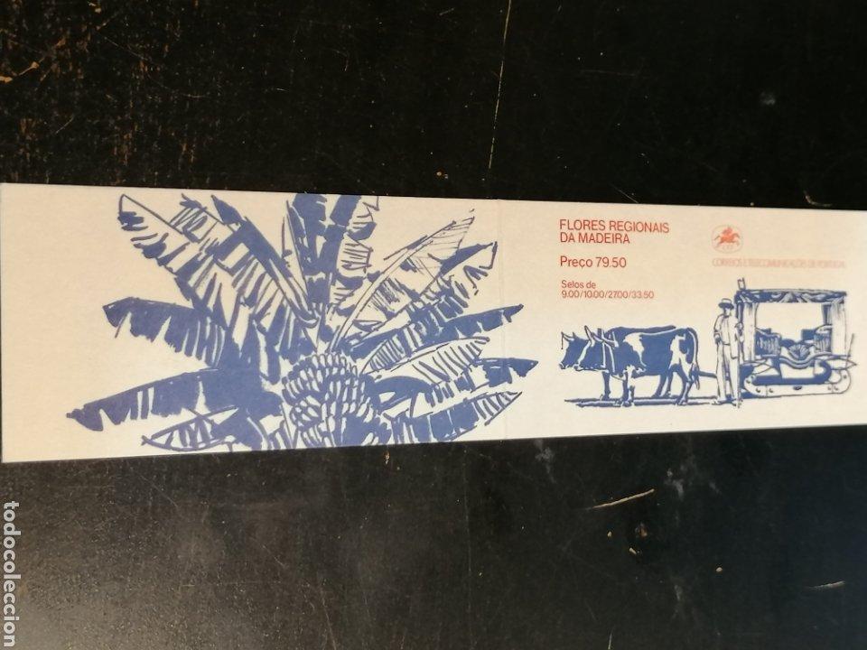 Sellos: Flores Portugal Azores, Madeira 5 carnets nuevos - Foto 3 - 198710052