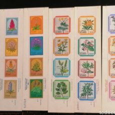 Sellos: FLORES PORTUGAL AZORES, MADEIRA 5 CARNETS NUEVOS. Lote 198710052
