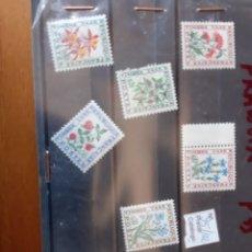 Sellos: FRANCIA SERIE COMPLETA NUEVA FLORES 95/102. Lote 205767716