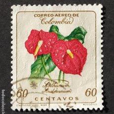 Sellos: 1960 COLOMBIA FLOR DEL FLAMENCO. Lote 206826732