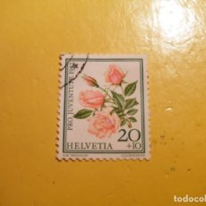Sellos: SUIZA - FLORA - LA ROSA ROSA.. Lote 207002965