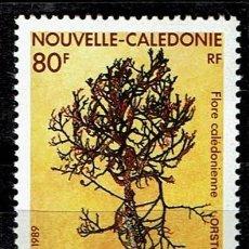 Sellos: SERIE FLORES NOUVELLE CALEDONIE FLORA 1989. NUEVOS. NUEVA CALEDONIA. Lote 208407847