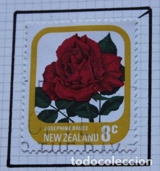 Sellos: Lote de 14 sellos de rosas diferentes países entre 1974 1983 - Foto 2 - 140172658
