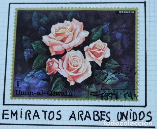 Sellos: Lote de 14 sellos de rosas diferentes países entre 1974 1983 - Foto 6 - 140172658