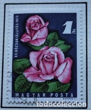 Sellos: Lote de 14 sellos de rosas diferentes países entre 1974 1983 - Foto 9 - 140172658