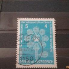 Sellos: SELLOS AUSTRIA (OSTERREICH) MTDOS/1979/CONGRESO/DESARROLLO/INDUSTRIA/FLORA/FLOR/NATIRALEZA/GLOBO/TER. Lote 210646102