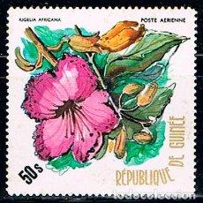 Sellos: GUINEA, REPUBLICA Nº 706, KIGELIA AFRICANA, NUEVO ***. Lote 210941395