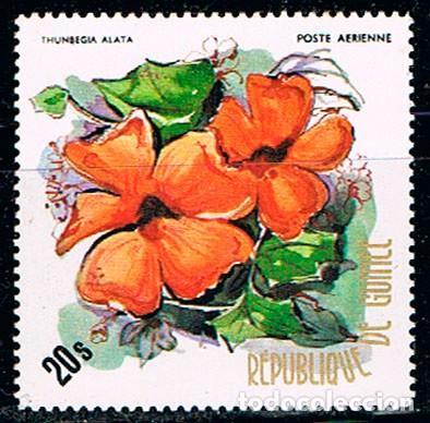 GUINEA, REPUBLICA Nº 704, SUSANA DE OJOS NEGROS, NUEVO *** (Sellos - Temáticas - Flora)