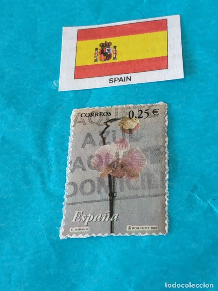ESPAÑA FLORA P (Sellos - Temáticas - Flora)