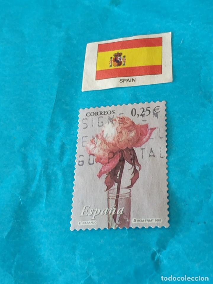 ESPAÑA FLORA Q (Sellos - Temáticas - Flora)