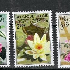 Sellos: BELGICA Nº 1523 AL 1525 (**). Lote 214168016