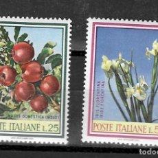 Sellos: ITALIA Nº 989 AL 990 (**). Lote 214170496
