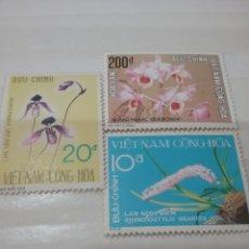 Sellos: SELLOS VIETNAM DEL SUR NUEVOS/1974/ORQUIDEAS/PLANTAS/FLORES/FLORA/NATURALEZA/HIERBAS/. Lote 218969110