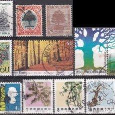 Sellos: LOTE DE SELLOS - BOSQUES - ARBOLES - PLANTAS - (AHORRA EN PORTES, COMPRA MAS). Lote 221704085
