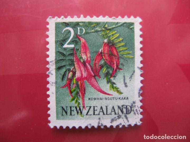 +NUEVA ZELANDA, 1960, FLORA, YVERT 386 (Sellos - Temáticas - Flora)