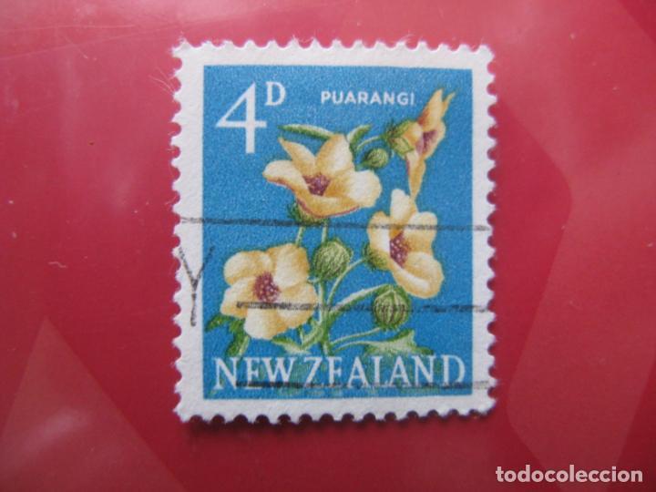 +NUEVA ZELANDA, 1960, FLORA, YVERT 388 (Sellos - Temáticas - Flora)