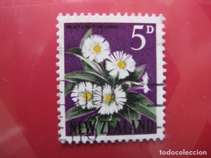 +NUEVA ZELANDA, 1960, FLORA, YVERT 388A (Sellos - Temáticas - Flora)