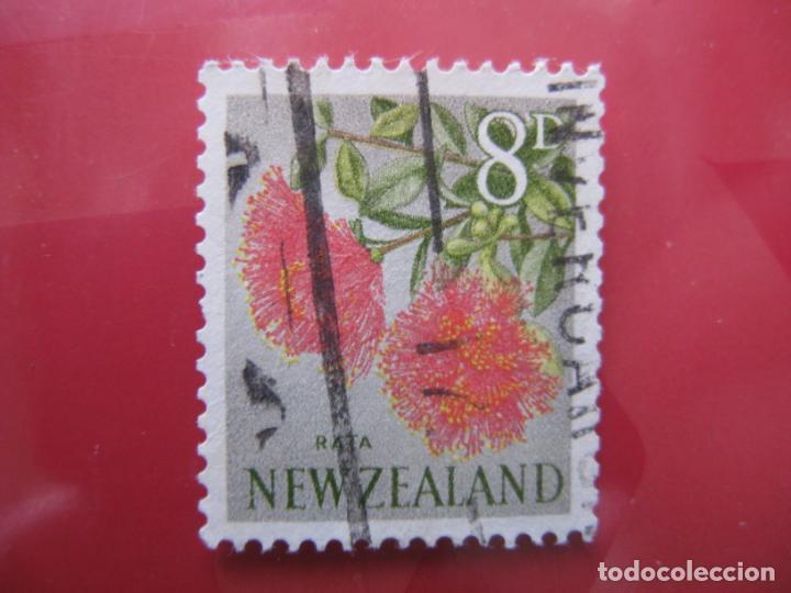 +NUEVA ZELANDA, 1960, FLORA, YVERT 390 (Sellos - Temáticas - Flora)
