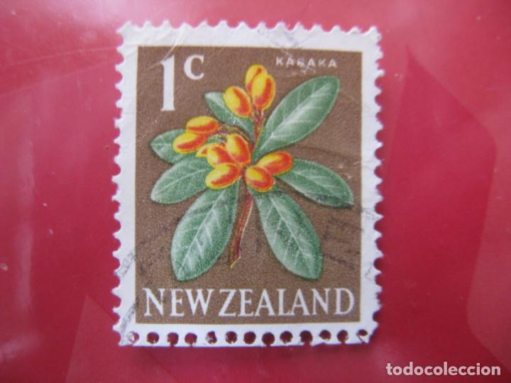 +NUEVA ZELANDA, 1967, FLORA, YVERT 444 (Sellos - Temáticas - Flora)