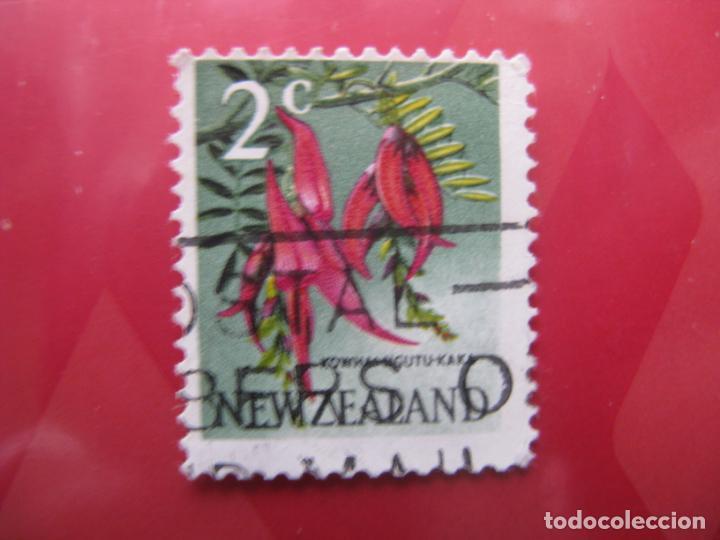 +NUEVA ZELANDA, 1967, FLORA, YVERT 445 (Sellos - Temáticas - Flora)