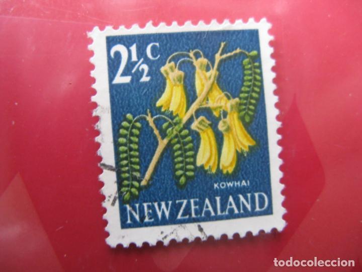 +NUEVA ZELANDA, 1967, FLORA, YVERT 446 (Sellos - Temáticas - Flora)